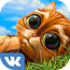 Инди кот на андроид (ВК-приложение)