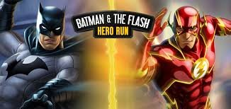 Взломанная Batman and The Flash: Hero Run - супергеройский дуэт