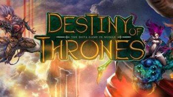 Взломанная Destiny Of Thrones - отличная моба