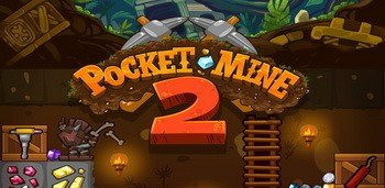 Взломанная Pocket Mine 2 - капай туннель