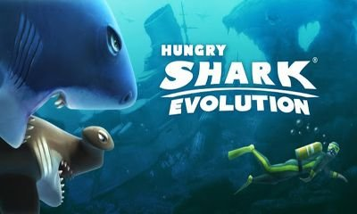Взломанная Hungry Shark Evolution - съешь всех