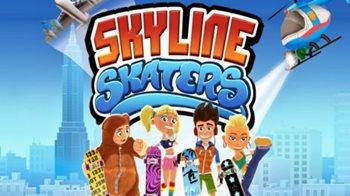 Взломанная Skyline Skaters - прокатись по крышам