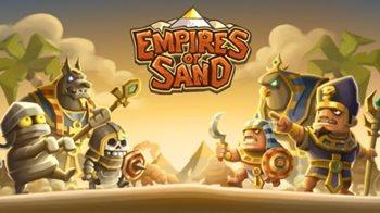 Взломанная Empires of Sand - строй и защищай город