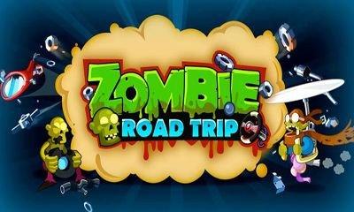 Взломанная Zombie Road Trip - раздави зомбарей
