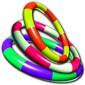 Взломанная Carnival Toss 3D - забрось все кольца