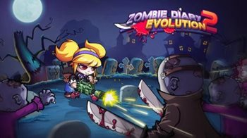 Взломанная Zombie Diary 2 - спаси человечество