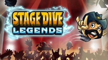 Взломанная Stage Dive Legends - забавная игруха