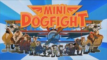 Взломанная Mini Dogfight - сбивай самолёты