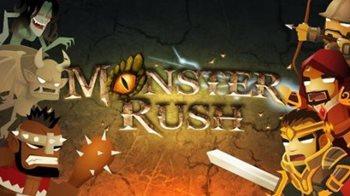 Взломанная Monster Rush - защити форт