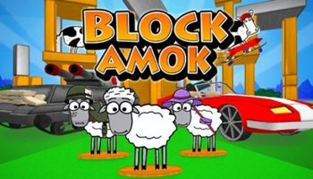 Взломанная Block Amok - стреляй в коров
