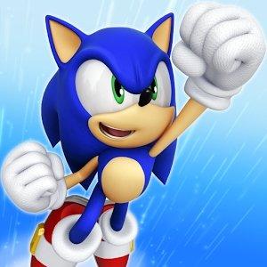 Взломанная Sonic Jump Fever - собери кольца