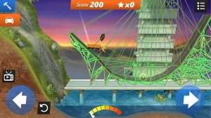 Bridge Constructor Stunts - построй мост